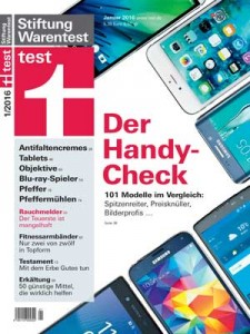 Stiftung Warentest Cover 01 2016